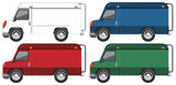 Set of truck with different colour - 237312390