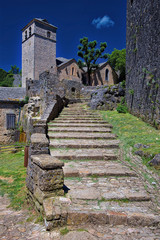 The village of La Couvertoirade, one of France's most beautiful medieval communes