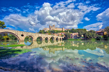 The Old Bridge at Beziers, south of France © ImageArt