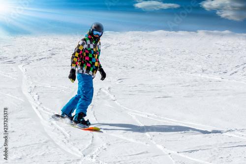 People Snowboard Winter Sport Friendship Concept - 237325378