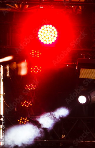 Light on the stage as an abstract background - 237330377