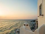 Piso Livadi beach on Paros Greece island - 237371333