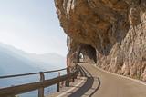 Bergstrasse in den Gardaseebergen