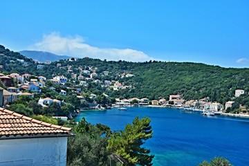 Greece,island Ithaki-view of the Kioni