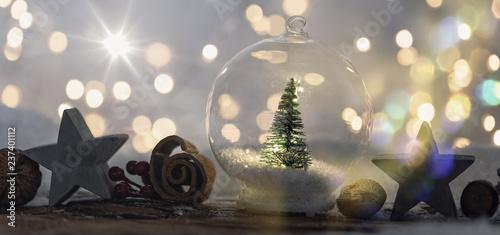 bokeh christmas card  - 237401112
