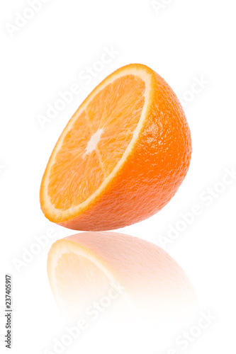 Plastry pomarańczy z bliska.