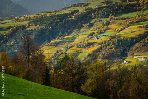 Eisacktal Southtyrol Italy Autumn