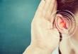 Leinwandbild Motiv Hearing.