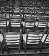 chairs in the place of worship before the religious ceremony