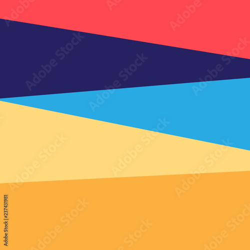 Abstract bright unusual colored background with geometry - 237431981