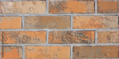 decorative designer  brick wall - 237448753