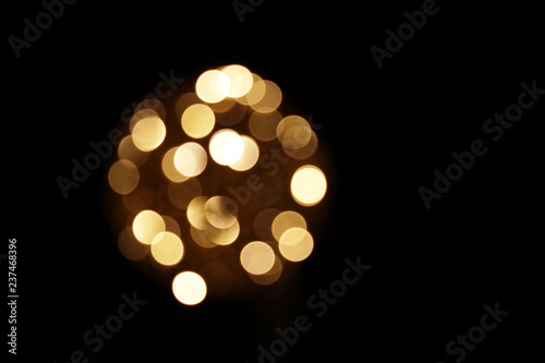 lichterkugel in der nacht - 237468396