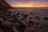 Scripps Coastal Reserve sunset slow shutter
