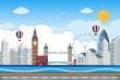 London city lin scene