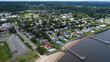 Aerial view of Atlantic Highlands, New Jersey