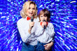 Leinwandbild Motiv gifted family performance