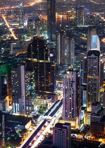 Night scene cityscape - 237514943