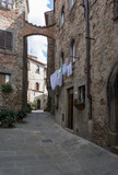 medieval village of Tuscany