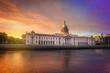 Custom house in Dublin at twilight - 237541726