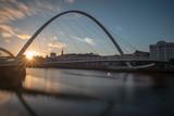Gateshead Millennium Bridge at Sunset