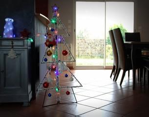 décoration de noël d'intérieur de maison