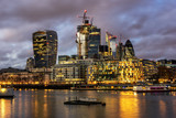 The Lower Thames in London City