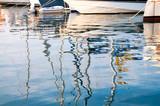 Sailboats reflection at sunrise - 237577588