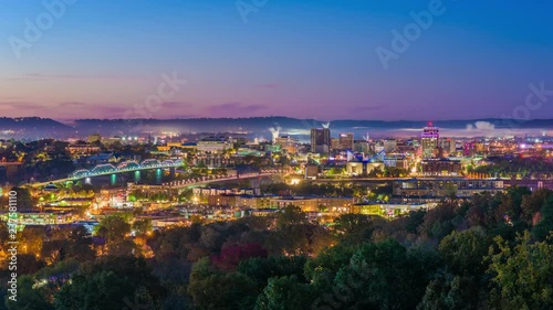 Chattanooga, Tennessee, USA Skyline