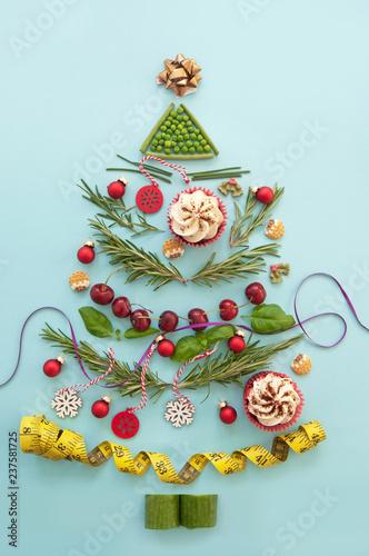 Christmas diet concept - 237581725
