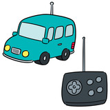 vector set of remote control car