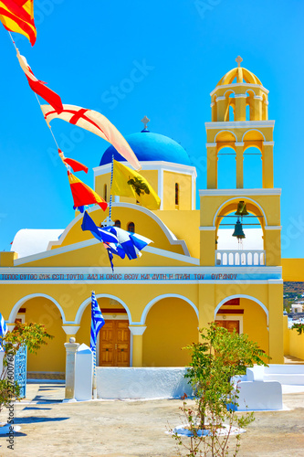St George Church in Santorini