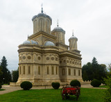 Cathedral in romanian city