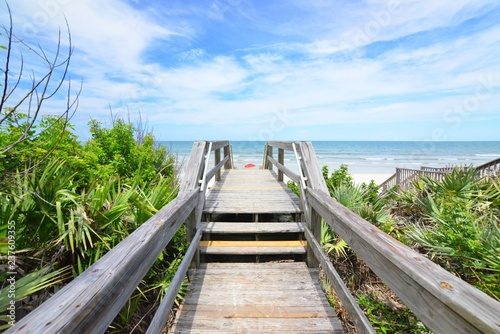 Obraz na płótnie Beachwalk 1
