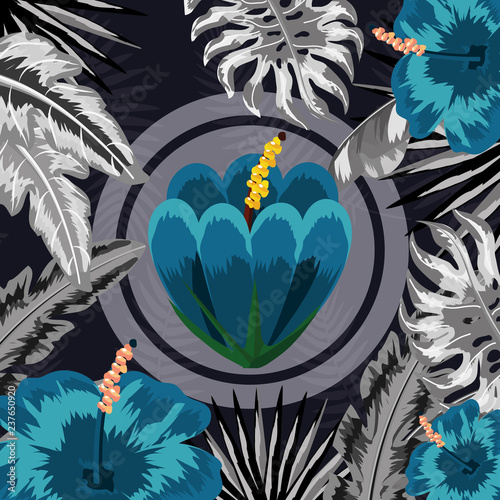 seamless floral pattern cartoon - 237650920