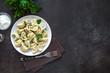 Leinwandbild Motiv Homemade Dumplings