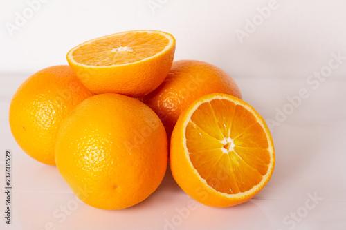 pomarańczowe pomarańcze zbliżenie.