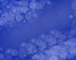 illustration, abstraction, white, blue light, spots, free space for the inscription