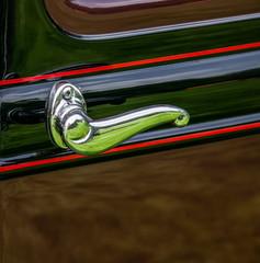 Classic car door