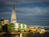 View Towards Southwark From The Thames