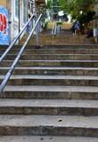 Berühmte St. Nicholas-Treppe im Stadtteil Gemmayzeh