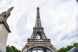 Wide Angle Eiffel Tower