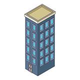 Company building isometric - 237786315
