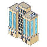 Company building isometric - 237786330