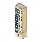 Company building isometric - 237786364