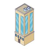 Company building isometric - 237786370