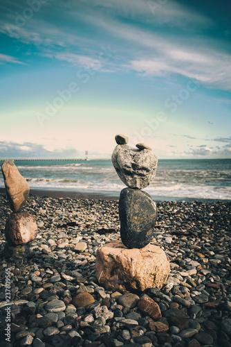 Bilans kamieni. Dobrze zrównoważony kamyk