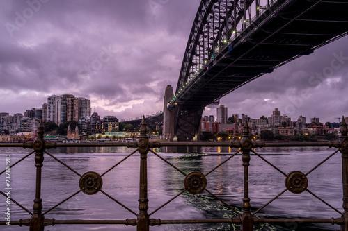 Plakat Sydney Harbour at dawn