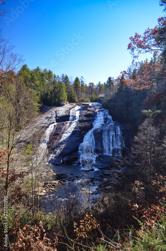 High Falls in the Dupont State Forest in western North Carolina - 237811998