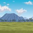 beautiful landscape scenery