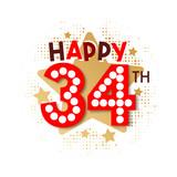 Happy 34th Birthday - 237827517